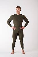 Комплект мужского термобелья Зеленый S ThermoX Winter Soldier