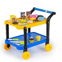 Игровой набор Сладости на липучках с сервировочным столиком SKL11-182856