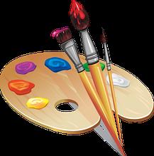 Інструменти для малювання та живопису