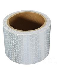 Самоклеющаяся светоотражающая лента 5 х 100 см White 871YTB, КОД: 366902