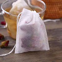 100 шт./упаковка - 10х12 см. Фильтр пакет для чая, специй, лечебных трав, кофе