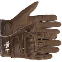 Перчатки тактические с закрытыми пальцами SILVER KNIGHT оливковые BC-7052, фото 1