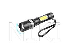 Ручной фонарик Police W546-XPE + COB 7410