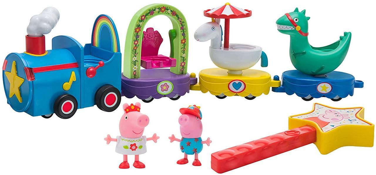 Волшебный парад Свинки Пеппы, поезд свинки Пеппы со звуком, Peppa Pig Magical Parade Float, Оригинал из США
