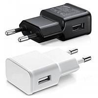 Зарядное Устройство для Телефона Сетевой USB адаптер Блок Питания  1 USB Мощность 2A