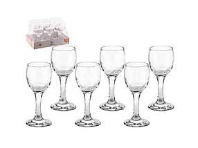 Набір чарок для лікеру Vita Glass 60 мл упаковка 6 шт