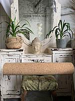 Коврик для йоги и медитаций пробковый Натуральный коврик для пилатеса Eco-Friendly cork mat