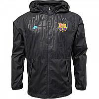 Спортивна кофта Nike FCB Barcelona АВФ Lite Obsidian/Yellow Black Оригінал