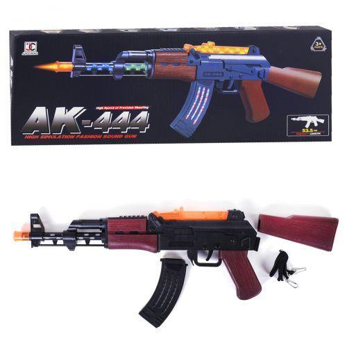 88643 [AK444] Автомат AK 444 (96/2) подсветка, звуки выстрелов, в коробке [Коробка]
