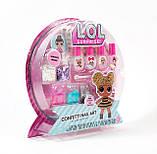 Набір Лаки для нігтів для дівчинки L. O. L. Surprise Confetti Nail Art by Horizon Group USA, фото 2