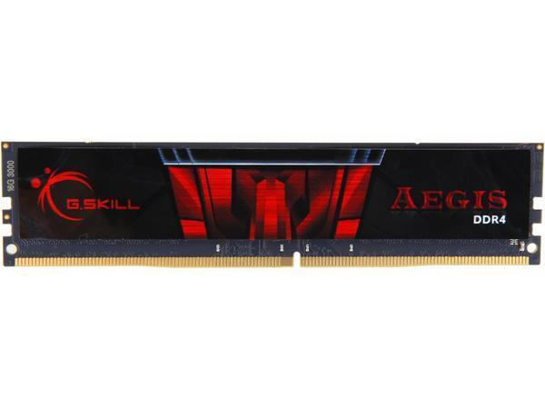 Модуль памяти DDR4 16GB 3000 G.Skill Aegis C16-18-18-38 (F4-3000C16S-16GISB)
