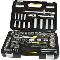 Набор инструментов Stanley MaxiDrive головок торцев. 1/2, 1/4 (1-94-668) (1-94-668)
