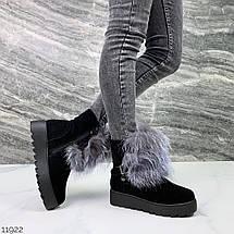 Угги-ботинки женские 11922 (ЯМ), фото 3