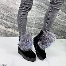 Угги-ботинки женские 11922 (ЯМ), фото 2