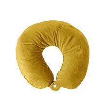 Дорожная подушка для путешествий, желтый