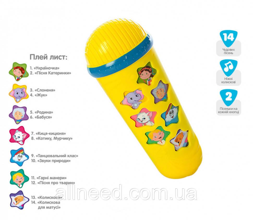 Микрофон M 3855 (Желтый)