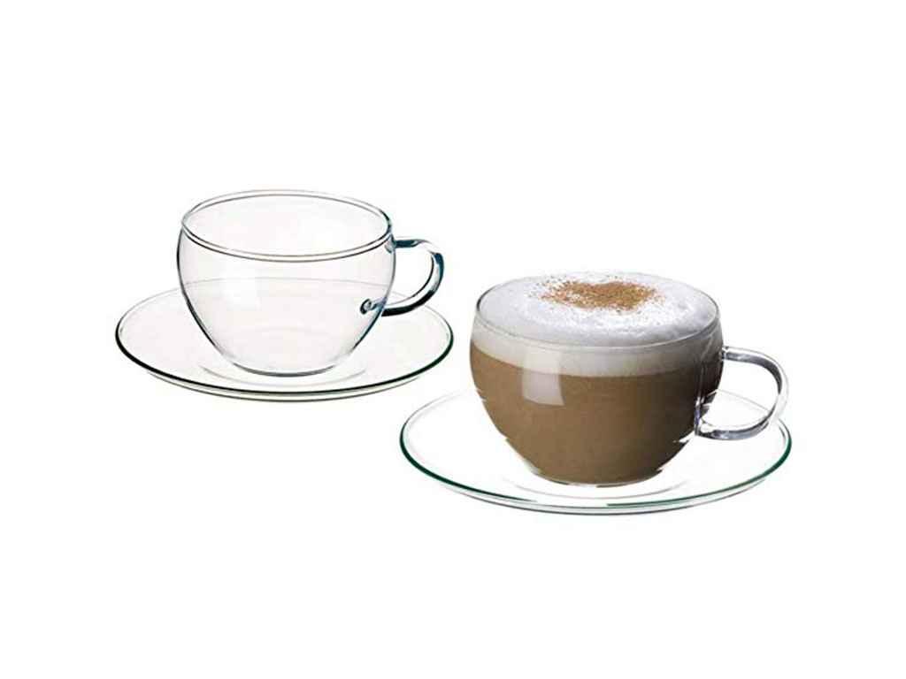 Сервиз чайный стекло Simax Eva 8 предметов (s2452/4232/4)