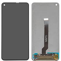Дисплей для Samsung A606 Galaxy A60 модуль в сборе с тачскрином, черный, оригинал (переклеенное стекло)