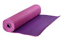 Коврик для йоги Maxed YOGA MAT розовый