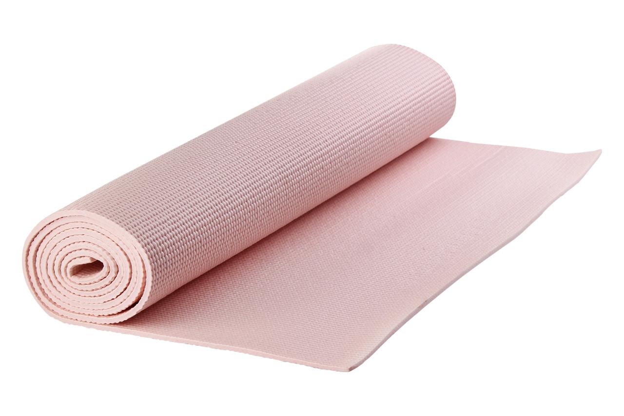Коврик для йоги YNIZ PV YOGA MAT розовый