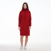 Платье худи от производителя LINS Анна (бордо)