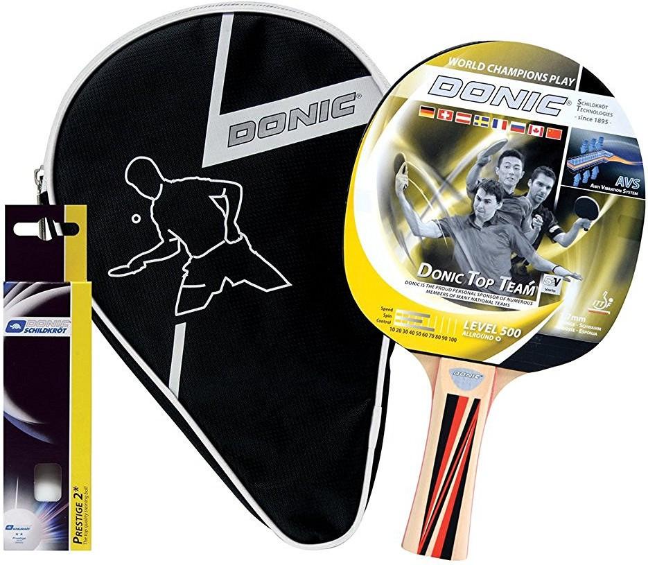 Набор для настольного тенниса Top Team 500 Gift Set (1 ракетка Top Team 500, 3 мяча)