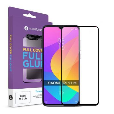 Стекло защитное MakeFuture Xiaomi Mi 9 Lite Full Cover Full Glue (MGF-XM9L)