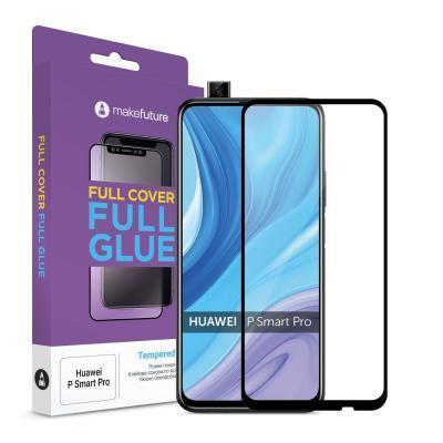 Стекло защитное MakeFuture Huawei P Smart Pro Full Cover Full Glue (MGF-HUPSP)