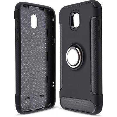 Чехол для моб. телефона Laudtec для Samsung J5 2017/J530 Ring stand (black) (LR-J530-BC)