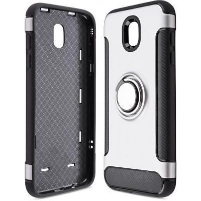 Чехол для моб. телефона Laudtec для Samsung J5 2017/J530 Ring stand (silver) (LR-J530-SR)
