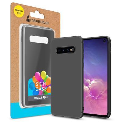 Чехол для моб. телефона MakeFuture Skin Case Samsung S10 Black (MCSK-SS10BK)