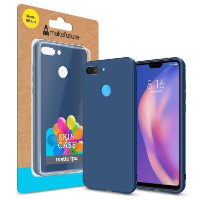 Чехол для моб. телефона MakeFuture Skin Case Xiaomi Mi8 Lite Blue (MCSK-XM8LBL)