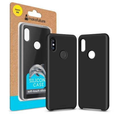 Чехол для моб. телефона MakeFuture Silicone Case Xiaomi Mi8 Black (MCS-XM8BK)