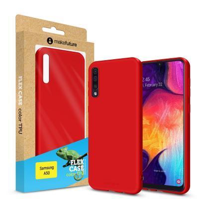 Чехол для моб. телефона MakeFuture Flex Case (Soft-touch TPU) Samsung A50 Red (MCF-SA505RD)