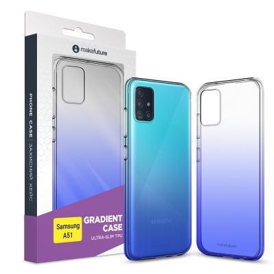 Чехол для моб. телефона MakeFuture Samsung A51 Air Gradient (TPU) Blue (MCG-SA51BL)