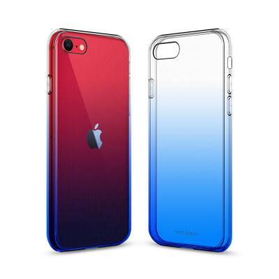 Чехол для моб. телефона MakeFuture iPhone SE 2020 Gradient (Clear TPU) Blue (MCG-AISE20BL)