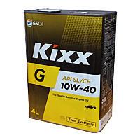 Масло моторное KIXX п/синт Gold SL 10W40 4л