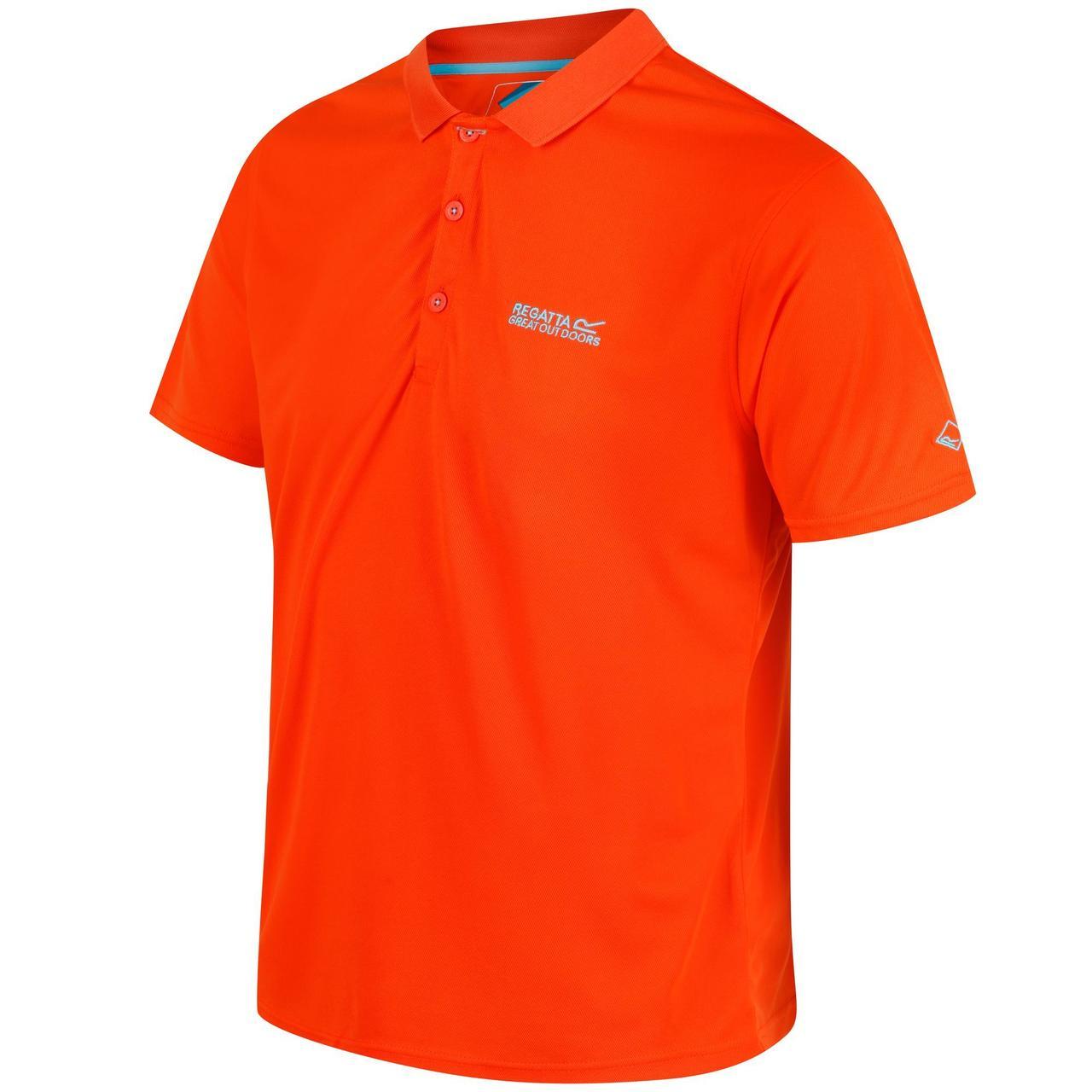 Поло Regatta Maverick IV 5XL оранжевый (RMT169_3N9_5XL)