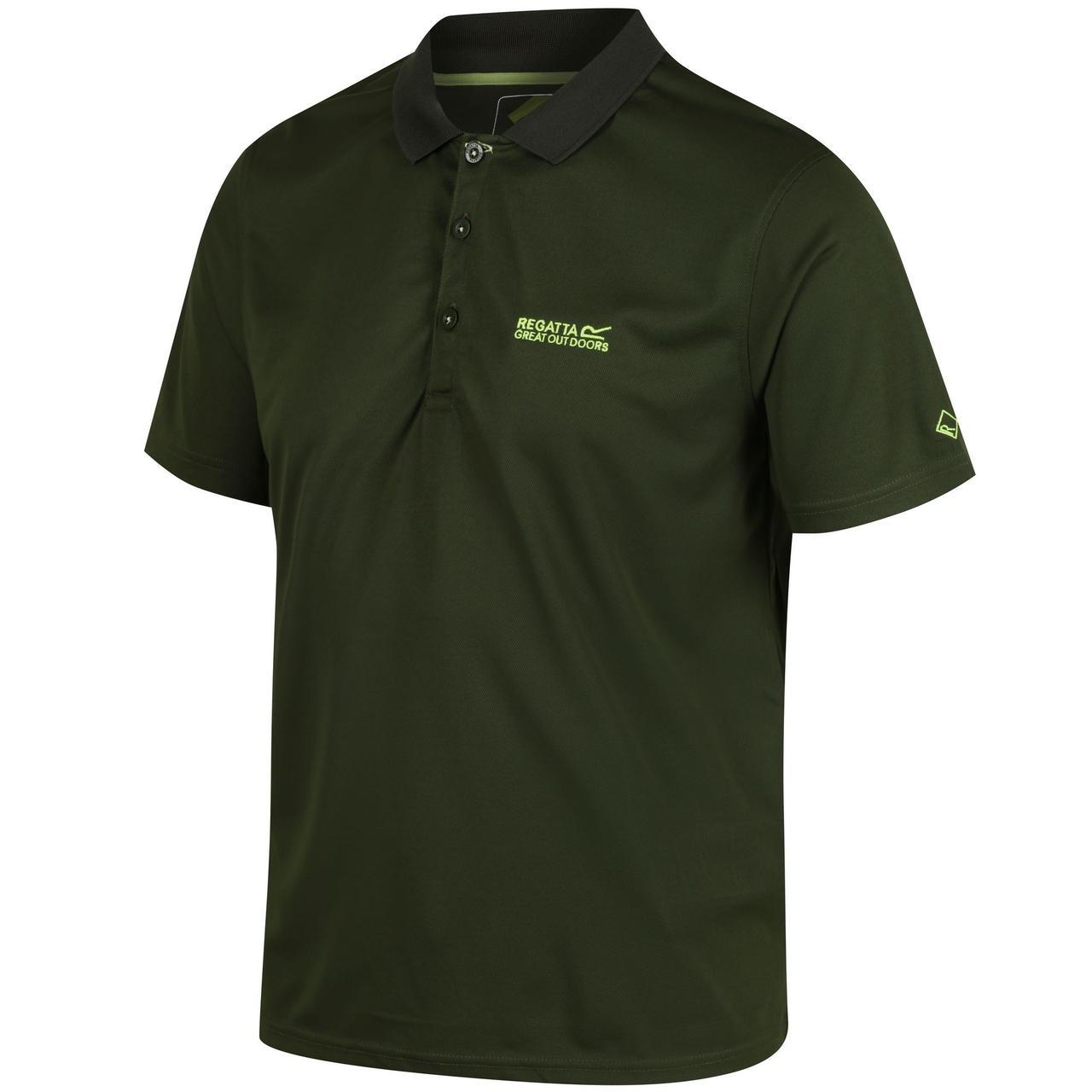 Поло Regatta Maverick IV M темно-зеленый (RMT169_3B0_M)