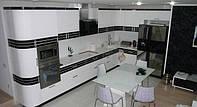 кухни модерн белые фото 73