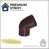 Коліно коричневе 60° Profil 130/100