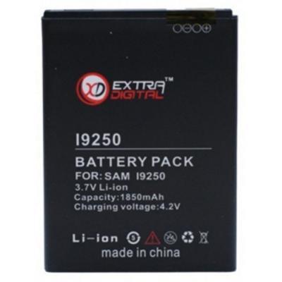 Аккумуляторная батарея EXTRADIGITAL Samsung GT-i9250 Galaxy Nexus (1850 mAh) (BMS6311)