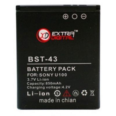 Аккумуляторная батарея EXTRADIGITAL Sony Ericsson BST-43 (850 mAh) (BMS6357)