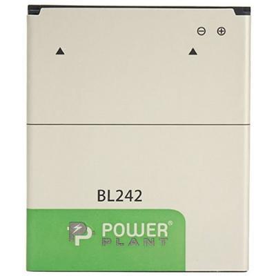 Аккумуляторная батарея PowerPlant Lenovo A6000 (BL242) 2300mAh (SM130030)