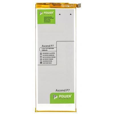 Аккумуляторная батарея PowerPlant Huawei Ascend P7 (HB3543B4EBW) 2460mAh (SM150137)