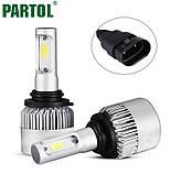 Лампы светодиодные автомобильные Partol S2 9006 P22d 12В 72Вт 8000лм, фото 2