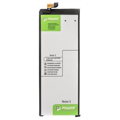Аккумуляторная батарея PowerPlant Samsung Note 5 (EB-BN920ABE) 3000mAh (SM170449)