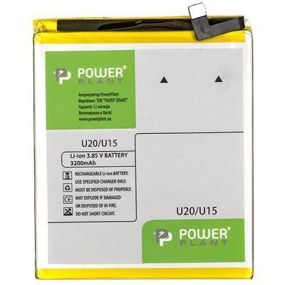 Аккумуляторная батарея PowerPlant Meizu U20 (BU15) 3200mAh (SM210114)