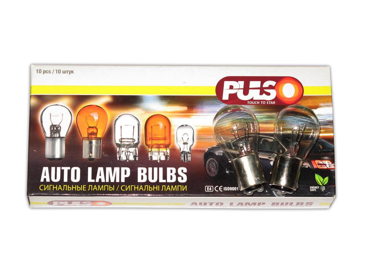 Лампочка 24V с больш. цок. 21/5W (2конт) Pulso LP-24152/BAY15d