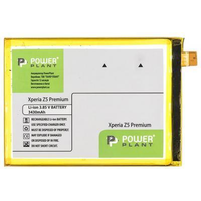 Аккумуляторная батарея для телефона PowerPlant Sony Xperia Z5 Premium (LIS1605ERPC) 3430mAh (SM190218)